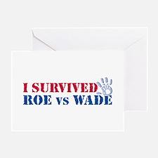 Roe vs Wade (hand) Greeting Card