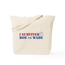 Roe vs Wade (hand) Tote Bag