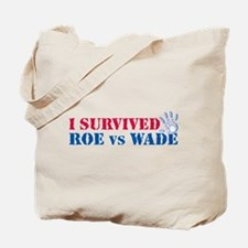 Roe vs Wade (hand) Tote Bag