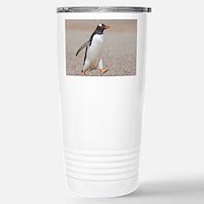 Cool Falklands penguin Travel Mug
