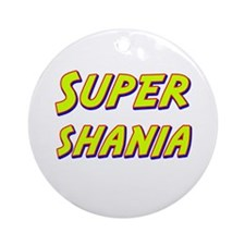 Super shania Ornament (Round)
