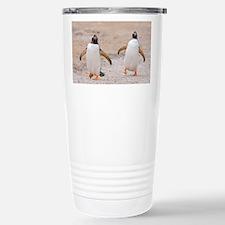 Cute Falklands penguin Travel Mug