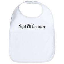 Night Elf Crusader Bib