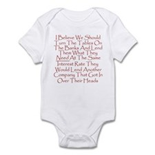 Unique Bailout Infant Bodysuit