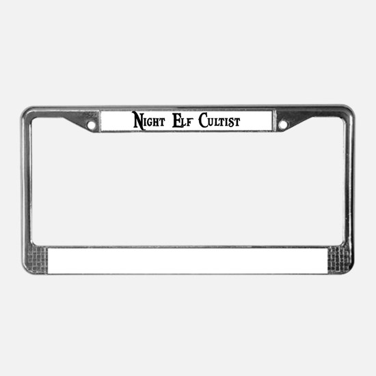 Night Elf Cultist License Plate Frame