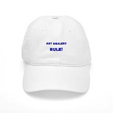 Art Dealers Rule! Baseball Cap