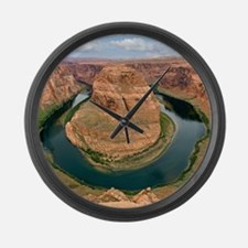 Funny Bend Large Wall Clock