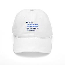 Anti Sarah Palin Baseball Cap