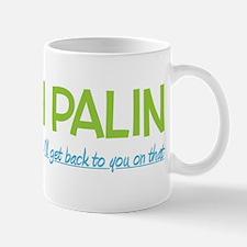 Inexperienced Palin Mug