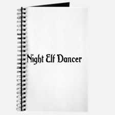 Night Elf Dancer Journal