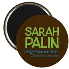 Inexperienced Palin Magnet