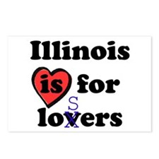 Illinois Is For Losers Postcards (Package of 8)