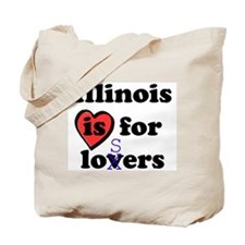Illinois Is For Losers Tote Bag