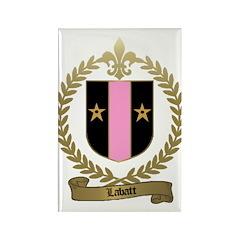 LABATT Family Crest Rectangle Magnet
