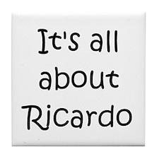 Funny Ricardo Tile Coaster