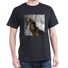 Funny Howling wolf T-Shirt