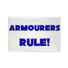 Armourers Rule! Rectangle Magnet