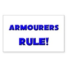 Armourers Rule! Rectangle Decal