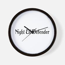 Night Elf Defender Wall Clock