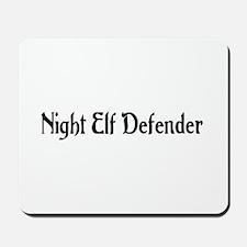 Night Elf Defender Mousepad