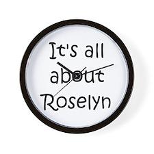 Cool Roselyn Wall Clock