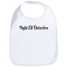 Night Elf Detective Bib