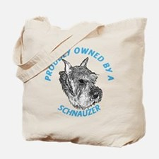 Proudly Owned Schnauzer Tote Bag