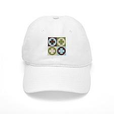 Nursing Pop Art Baseball Cap