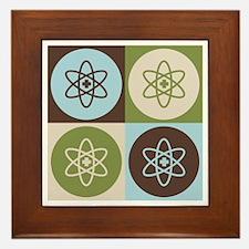 Nuclear Medicine Pop Art Framed Tile