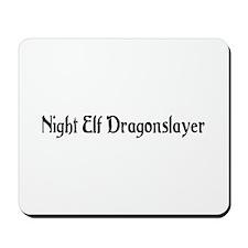 Night Elf Dragonslayer Mousepad