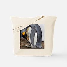 Cool Falklands penguin Tote Bag