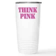 Think Pink (Stamp) Travel Mug