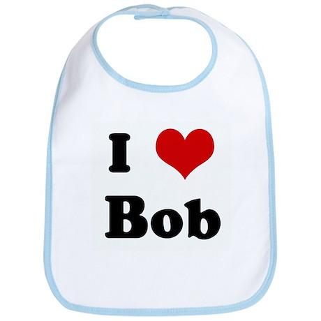 I Love Bob Bib