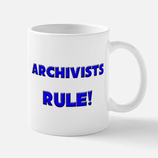 Archivists Rule! Mug