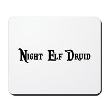 Night Elf Druid Mousepad