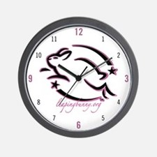 Leaping Bunny (Wall Clock)