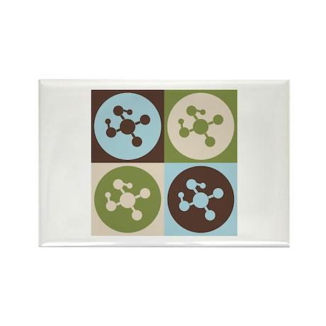 Molecular Biology Pop Art Rectangle Magnet