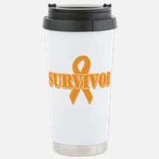 Orange Ribbon SurvivorTravel Mug