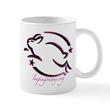 Leaping Bunny Outline (Mug)