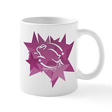 Leaping Bunny Stars (Mug)