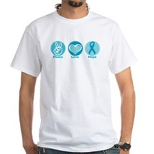 Peace Love Teal Hope Shirt