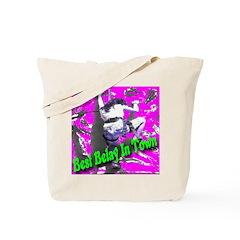 Best Belay In Town Tote Bag