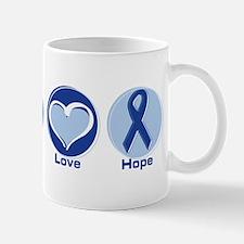 Peace Love Blue Hope Mug