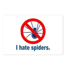 I hate spiders Postcards (Package of 8)