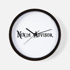 Ninja Advisor Wall Clock