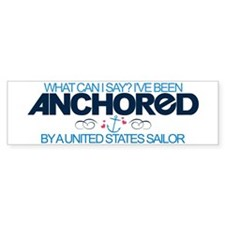 Anchored (Sailor) Bumper Car Sticker