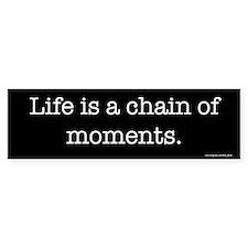Chain of moments Bumper