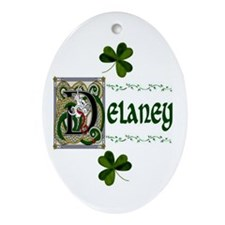 Delaney Celtic Dragon Keepsake Ornament