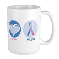 Peace Love Bl Pk Hope Mug