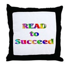 Read to Succeed Throw Pillow
